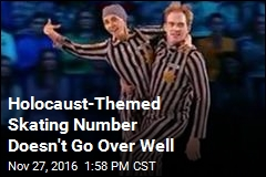 Holocaust-Themed Skating Number Doesn't Go Over Well