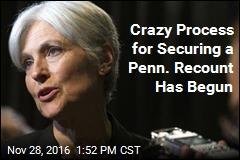 Crazy Process for Securing a Penn. Recount Has Begun