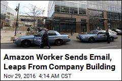 Amazon Worker Sends Email, Leaps From Company Building