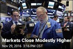 Markets Close Modestly Higher