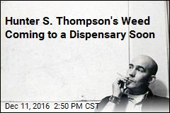Hunter S. Thompson's Weed Coming to a Dispensary Soon