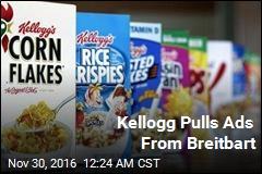 Kellogg Pulls Ads From Breitbart.com