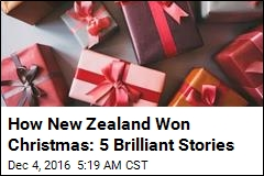 How New Zealand Won Christmas: 5 Brilliant Stories
