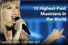 10 Highest-Paid Musicians in the World