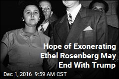 Hope of Exonerating Ethel Rosenberg May End With Trump