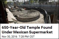 Temple to God of Wind Uncovered in Mexico City