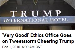 Office of Government Ethics Sends Odd Tweets About Trump