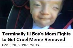 Unkind Internet Meme Exploits Terminally Ill 3-Year-Old