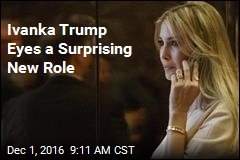 Ivanka Trump Eyes a Surprising New Role