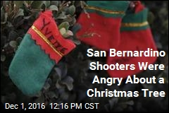San Bernardino Shooters Were Angry About a Christmas Tree