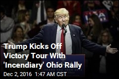 Trump Begins 'Victory Lap' With Ohio Rally
