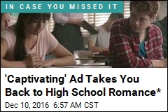 'Captivating' Ad Takes You Back to High School Romance*