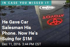 Toyota Salesman Stole Customers' Nude Photos: Lawsuit