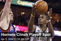 Hornets Clinch Playoff Spot