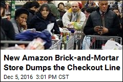 New Amazon Brick-and-Mortar Store Dumps the Checkout Line
