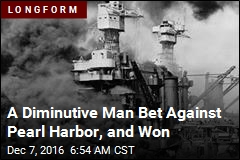 A Diminutive Man Bet Against Pearl Harbor, and Won