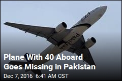 Plane With 40 Aboard Goes Missing in Pakistan