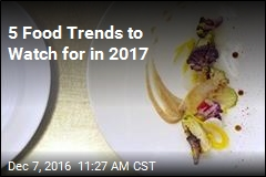 5 Food Trends to Watch for in 2017