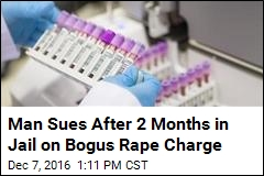 Man Sues After 2 Months in Jail on Bogus Rape Charge
