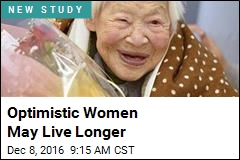 Optimistic Women May Live Longer