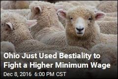 Ohio Votes to Make It Harder to Screw Animals