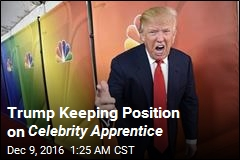 Trump Listed as Producer on Celebrity Apprentice