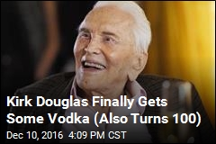 Kirk Douglas Celebrates His 100th Birthday