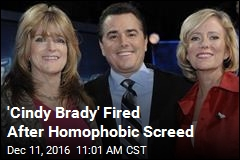 'Cindy Brady' Fired After Homophobic Screed