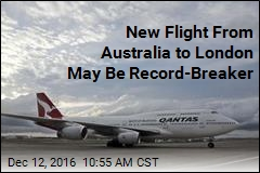 New Flight From Australia to London May Be Record-Breaker