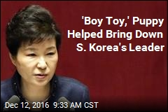 'Boy Toy,' Puppy Helped Bring Down S. Korea's Leader