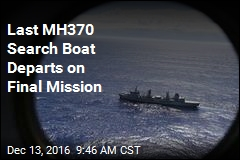 Last MH370 Search Boat Departs on Final Mission