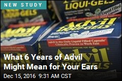 What 6 Years of Advil Can Do to Your Ears