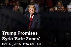 Trump Promises Syria 'Safe Zones'