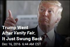 Vanity Fair Borrows Move From Trump Playbook