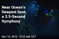 Near Ocean's Deepest Spot, a 3.5-Second Symphony