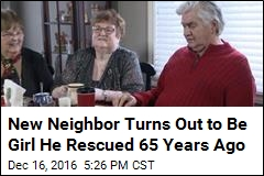 New Neighbor Turns Out to Be Girl He Rescued 65 Years Ago