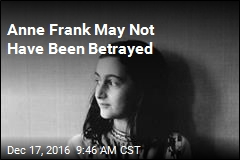 Anne Frank May Not Have Been Betrayed