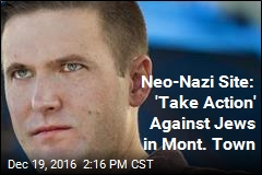Neo-Nazi Site: 'Take Action' Against Jews in Mont. Town