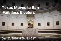 Texas Moves to Ban 'Faithless Electors'