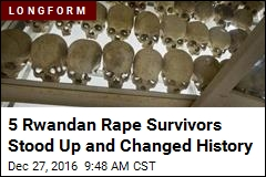 5 Rwandan Rape Survivors Stood Up and Changed History