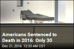 Only 30 Americans Were Sentenced to Death This Year