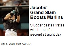 Jacobs' Grand Slam Boosts Marlins