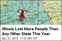 Illinois Lost More People Than Any Other State This Year
