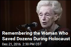 Woman Who Saved Dozens of Jews in Holocaust Dies at 96