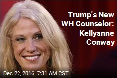Trump's New WH Counselor: Kellyanne Conway