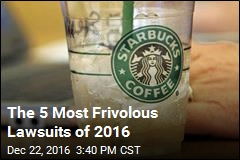 The 5 Most Frivolous Lawsuits of 2016