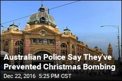 Australian Police Say They've Prevented Christmas Bombing