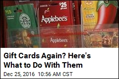 Here's What to Do With Those Gift Cards You Don't Want