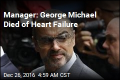 Manager: George Michael Died of Heart Failure