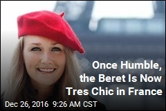 Once Humble, the Beret Is Now Tres Chic in France